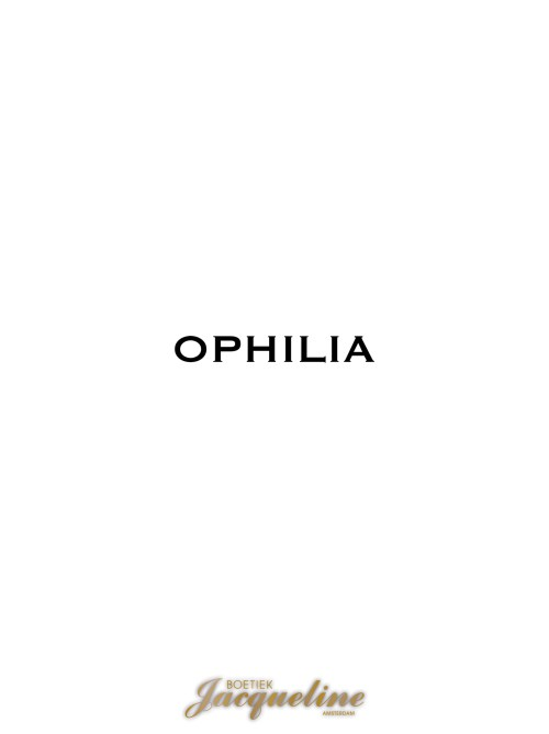 Ophilia bij Boetiek Jacqueline in Amsterdam.
