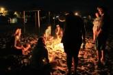 Bonfire jam session