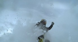 High fives for powder