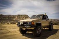 The 85 Toyota: baja adventure machine