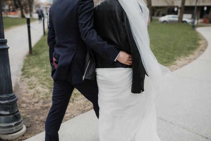 Toronto wedding photographer + Couple portrait
