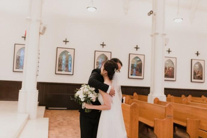 Toronto wedding photographer St. Basil's Wedding