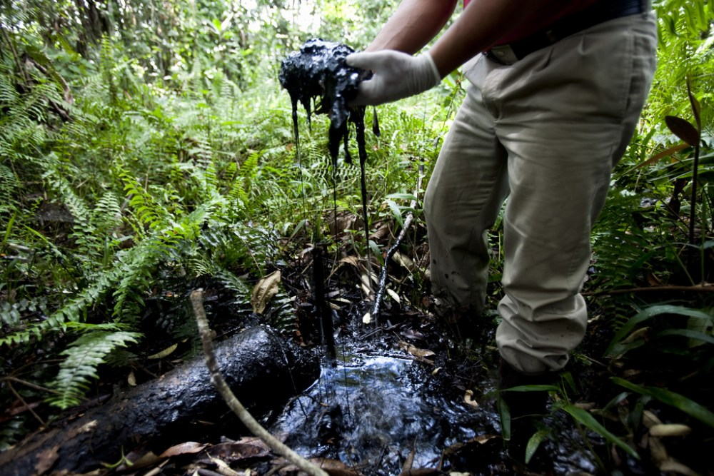 Chevron-Ecuador Oil Spill