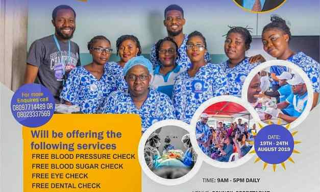 20 Free Fibroid Surgery and Other Medical Check Up