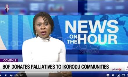 B.O.F Donates Palliatives to Ikorodu Communities