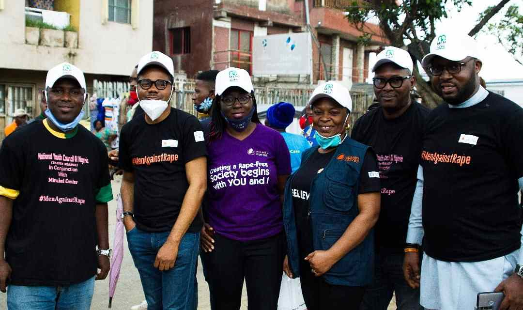 WALK AGAINST RAPE IN BARIGA DISTRICT
