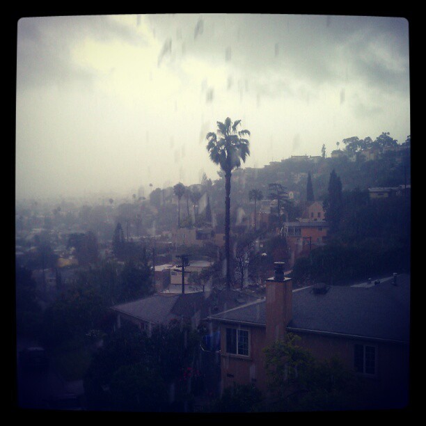 Rain in Southern California
