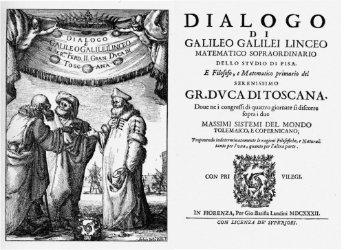 Galileo's Dialogo Title Page