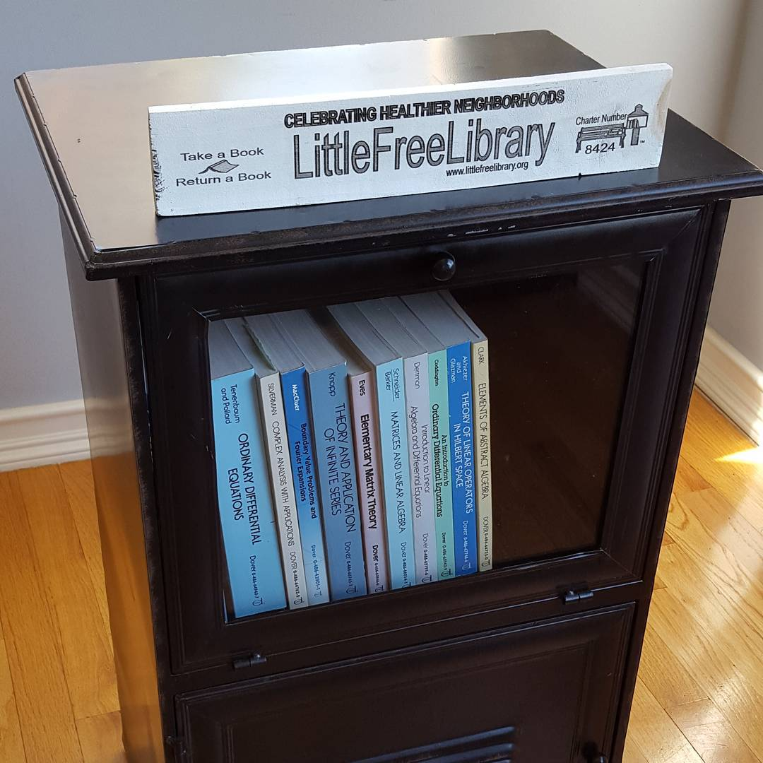 Prepping my Little Free Library