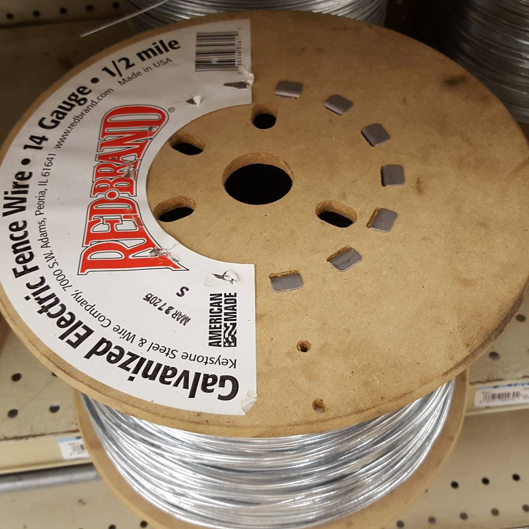 14 Gauge Galvanized Electric Fence Wire
