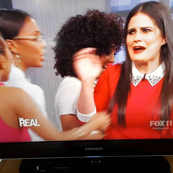 Surprised (but not) to see my old friend @iamdawnmccoy on @therealdaytime just now.  @dear15me