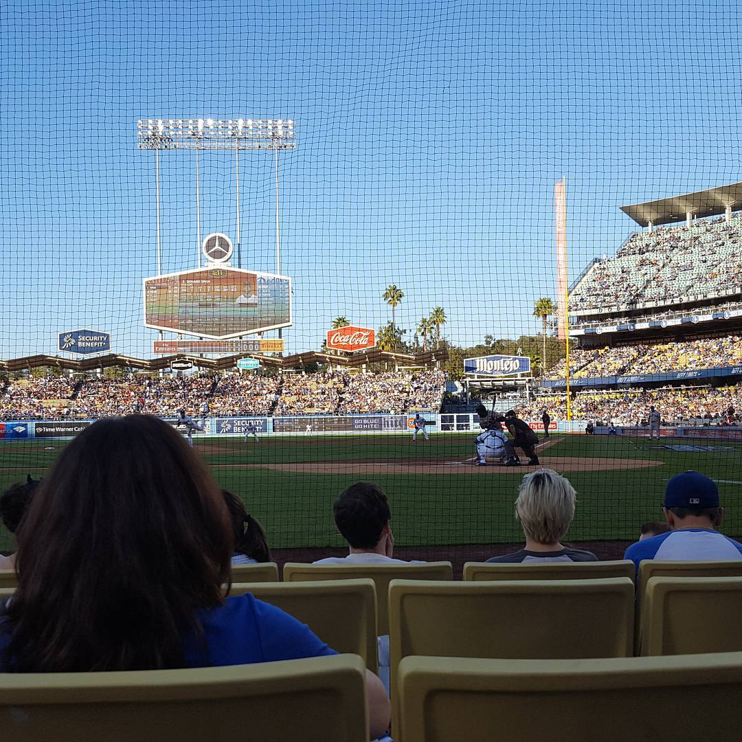 Dodgers vs. Giants: First Pitch #nozoom
