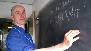 David MacKay blackboard