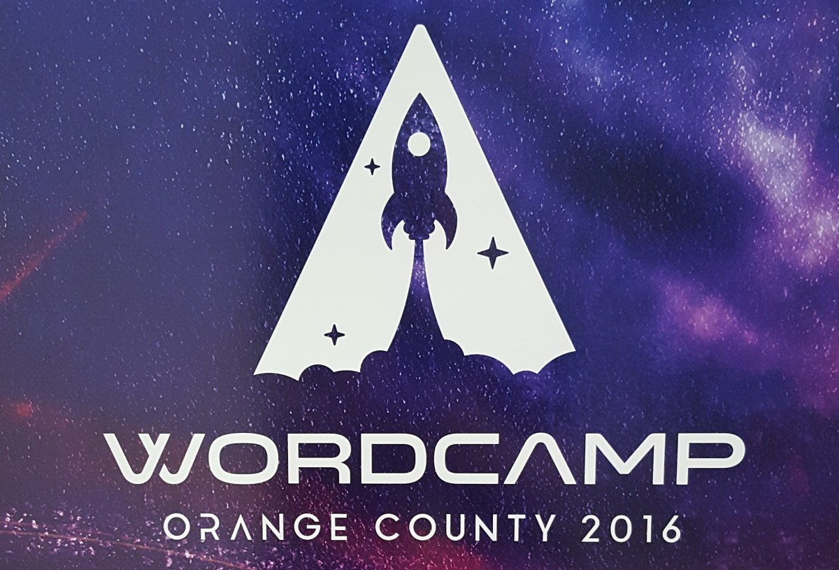 Artwork Logo from Word Camp Orange County 2016
