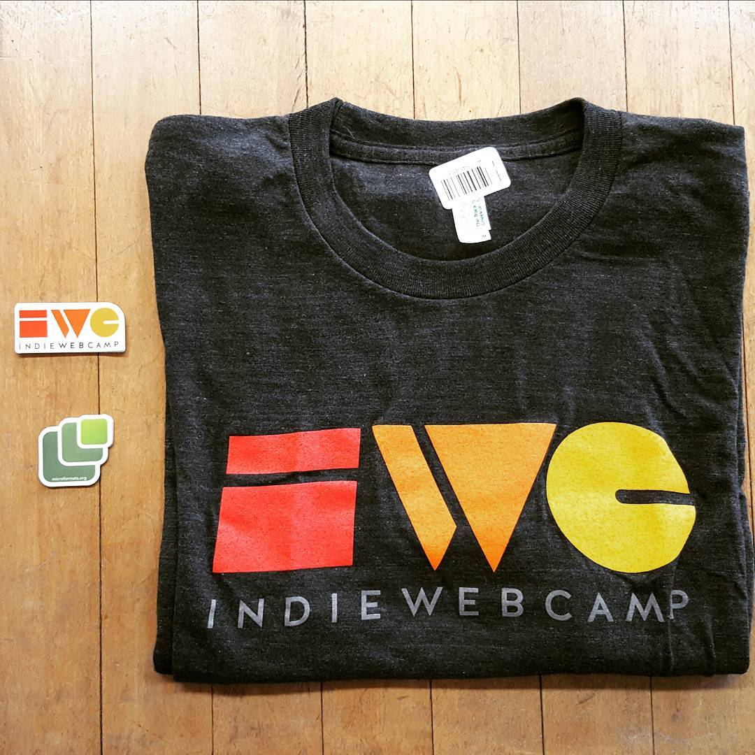 My Indieweb swag arrived http://indieweb.org