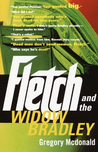 Fletch and the Widow Bradley Book Cover