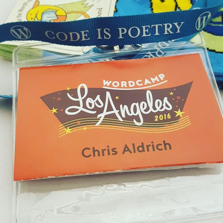 Attending WordCamp Los Angeles