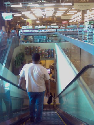 07/19/2008 Back down to the first floor @WholeFoods
