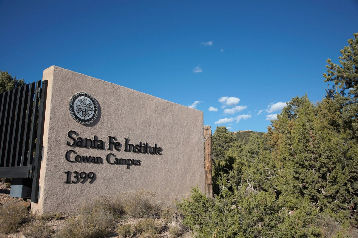 Statistical Physics, Information Processing, and Biology Workshop at Santa Fe Institute