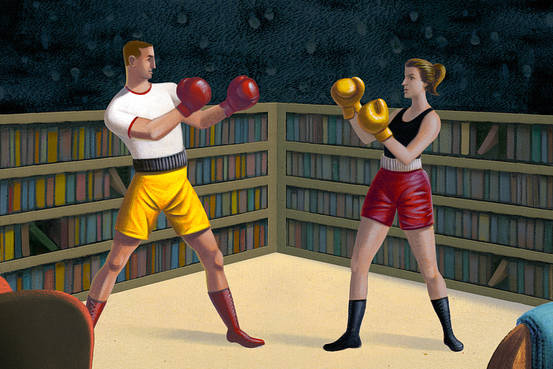 When Couples Fight Over Books | WSJ