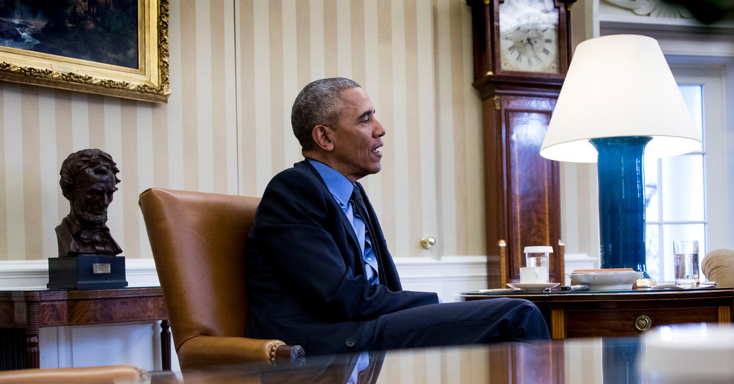 Obama's Secret to Surviving the White House Years: Books | The New York Times