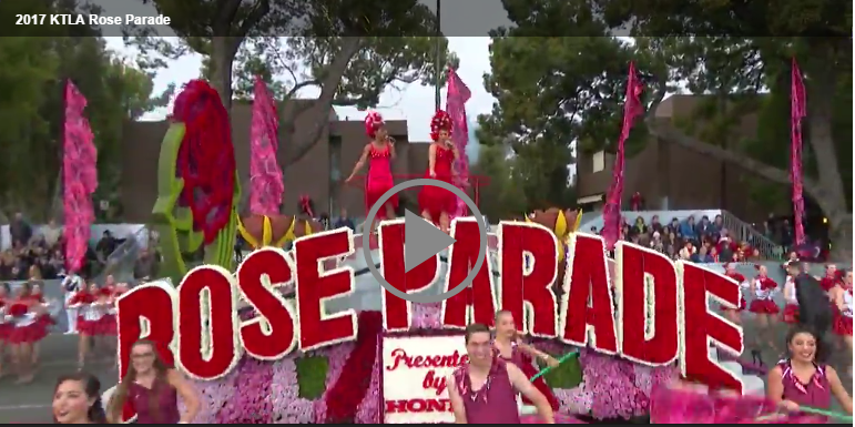 📺 Watched The 128th Rose Parade Presented by Honda