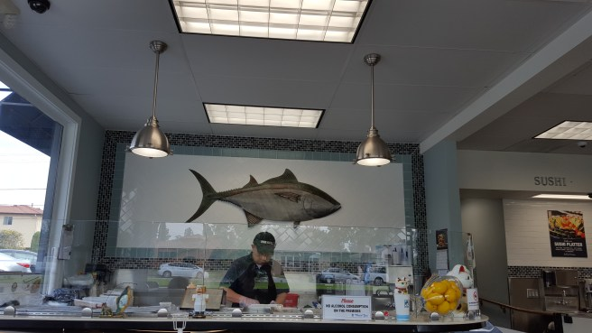 Fish King sushi counter