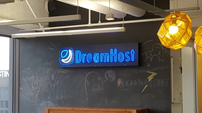 DreamHost in Neon