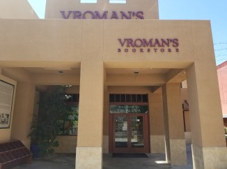 Vroman's Bookstore rear entrance