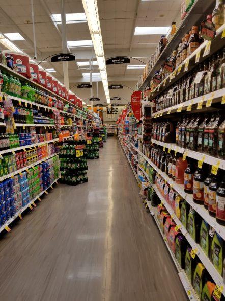 Ralphs soda aisle