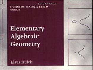 🔖 Elementary Algebraic Geometry by Klaus Hulek