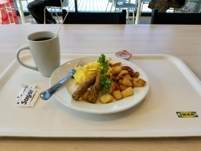 Breakfast at IKEA