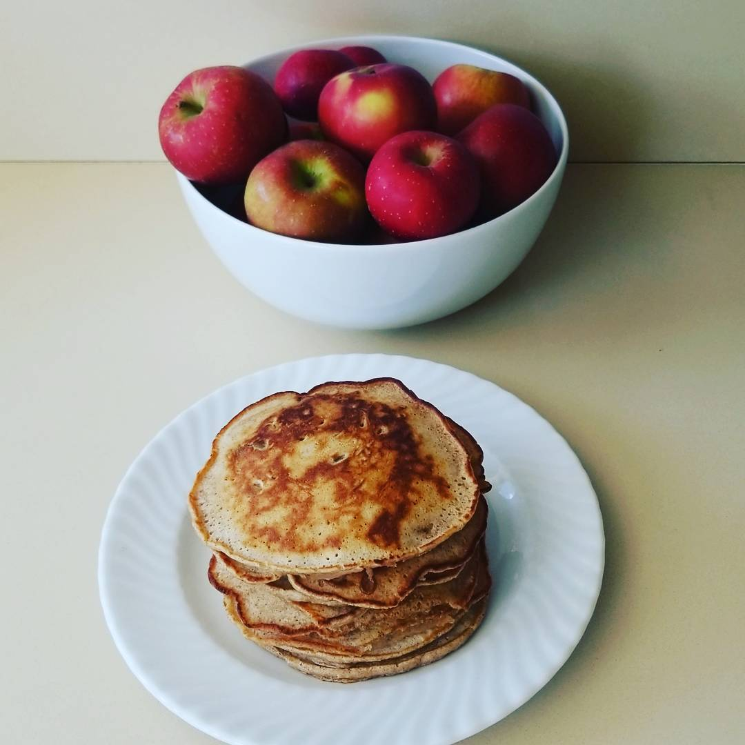 Apple pancakes 🍎