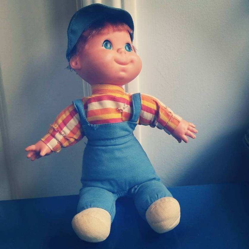 One of my first childhood toys and constant companions: Biffy Beans