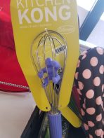 Kitchen Kong whisk--a must have tool for every cinephile foodie!