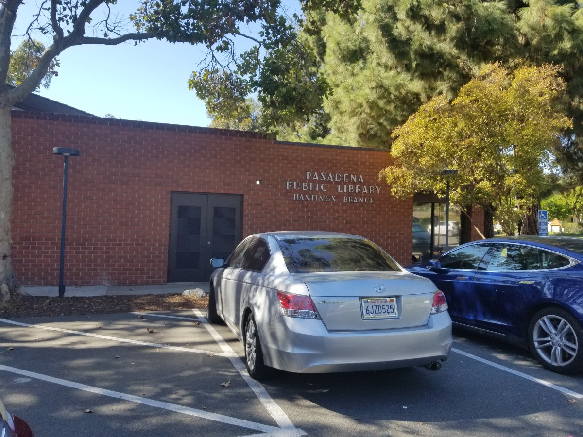 Checkin Pasadena Public Library – Hastings Branch