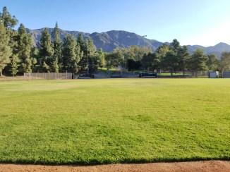 The baseball field at Dunsmore Park