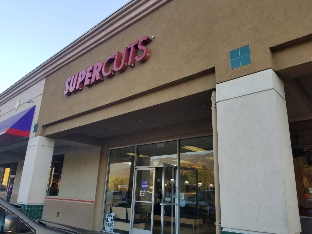 Checkin Supercuts