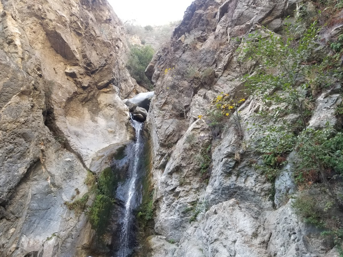 Checkin Eaton Canyon Waterfall