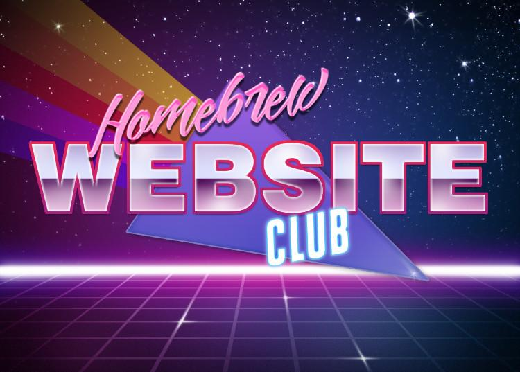Virtual Homebrew Website Club Meetup on May 30, 2018