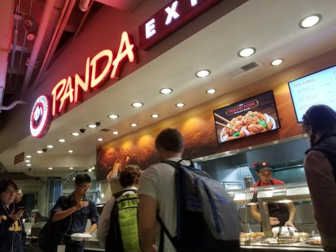 Checkin Panda Express