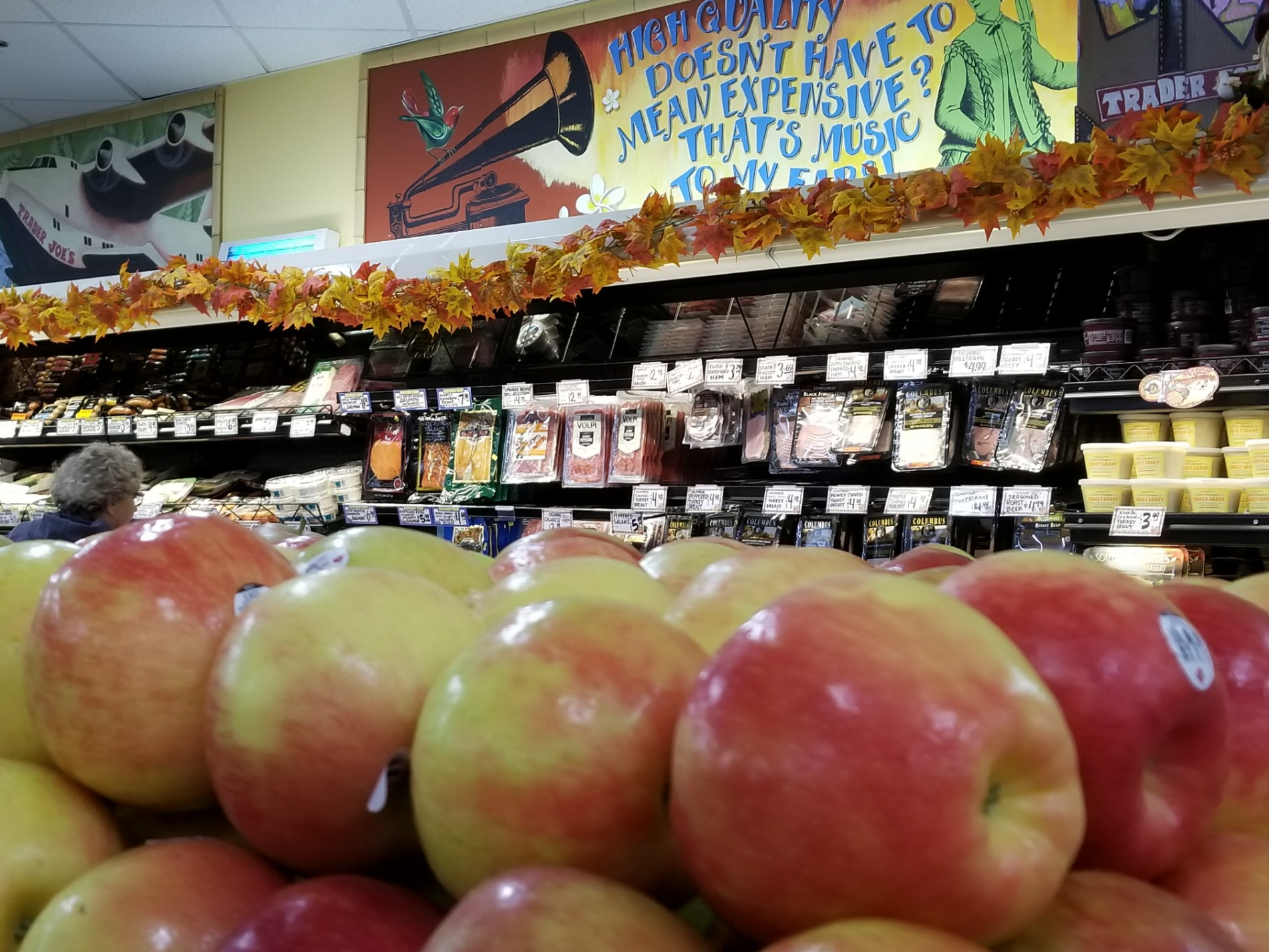 Apples at Trader Joe's
