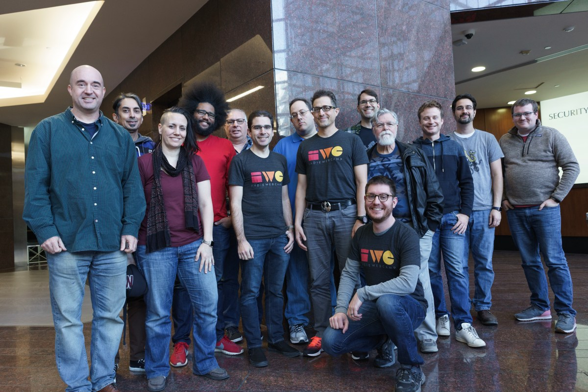 Group Photo at IndieWebCamp Austin 2017