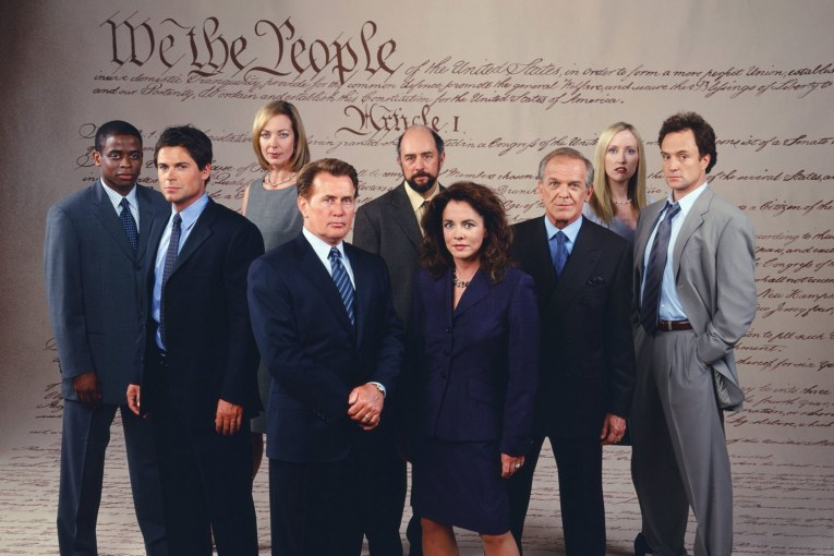 "📺 ""The West Wing"" On the Day Before S3 E5"