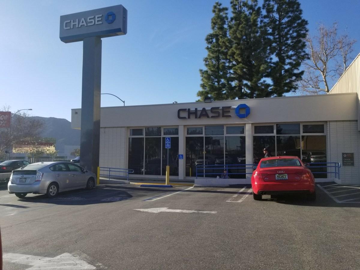 Checkin Chase Bank