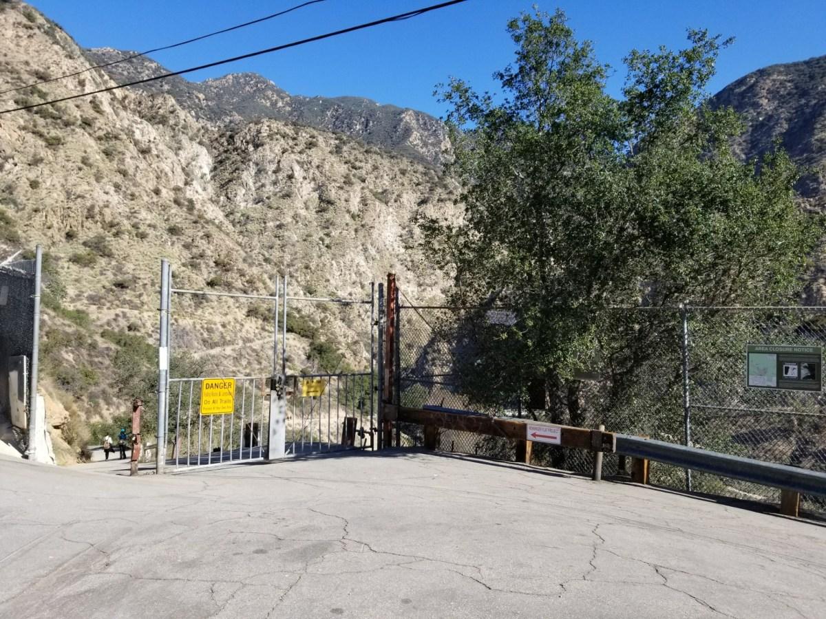 Checkin Mount Wilson Road Entry To Eaton Falls