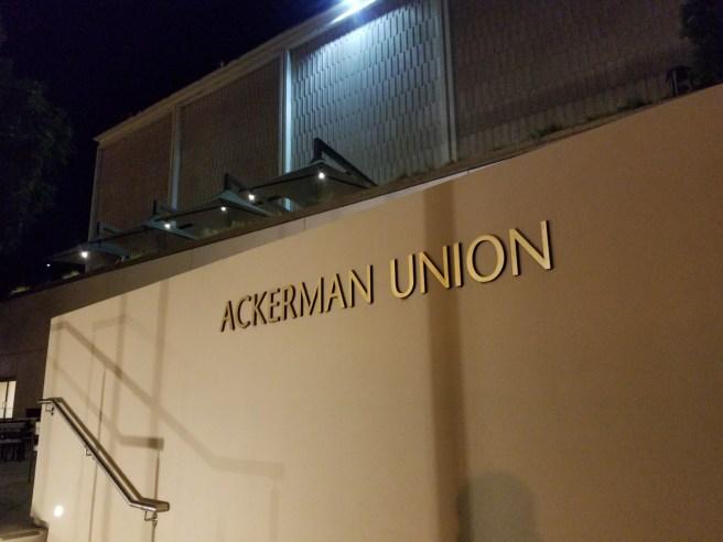UCLA Ackerman Student Union