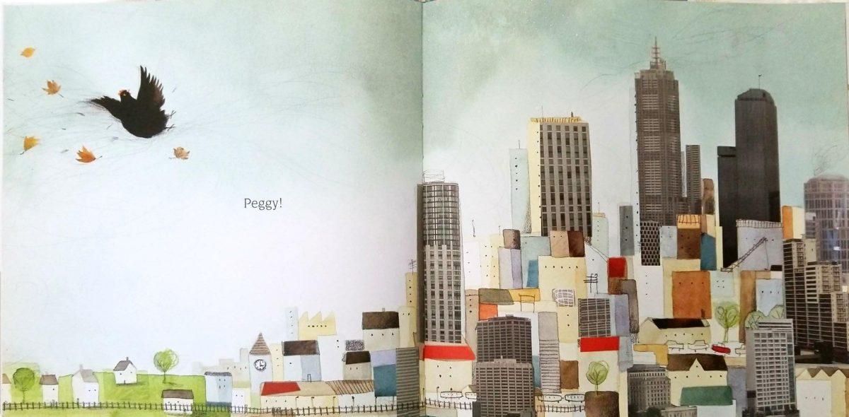 📖 Peggy: A Brave Chicken on a Big Adventure by Anna Walker