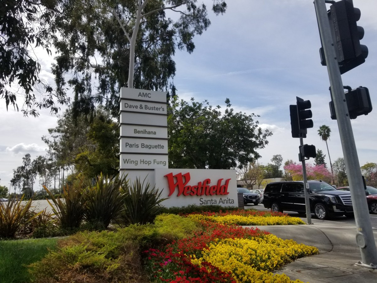 Checkin Westfield Santa Anita