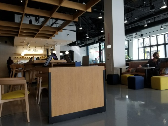 Checkin Capital One Café